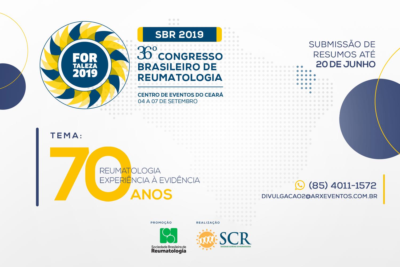 XXXVI Congresso Brasileiro de Reumatologia @ Fortaleza, Brasil